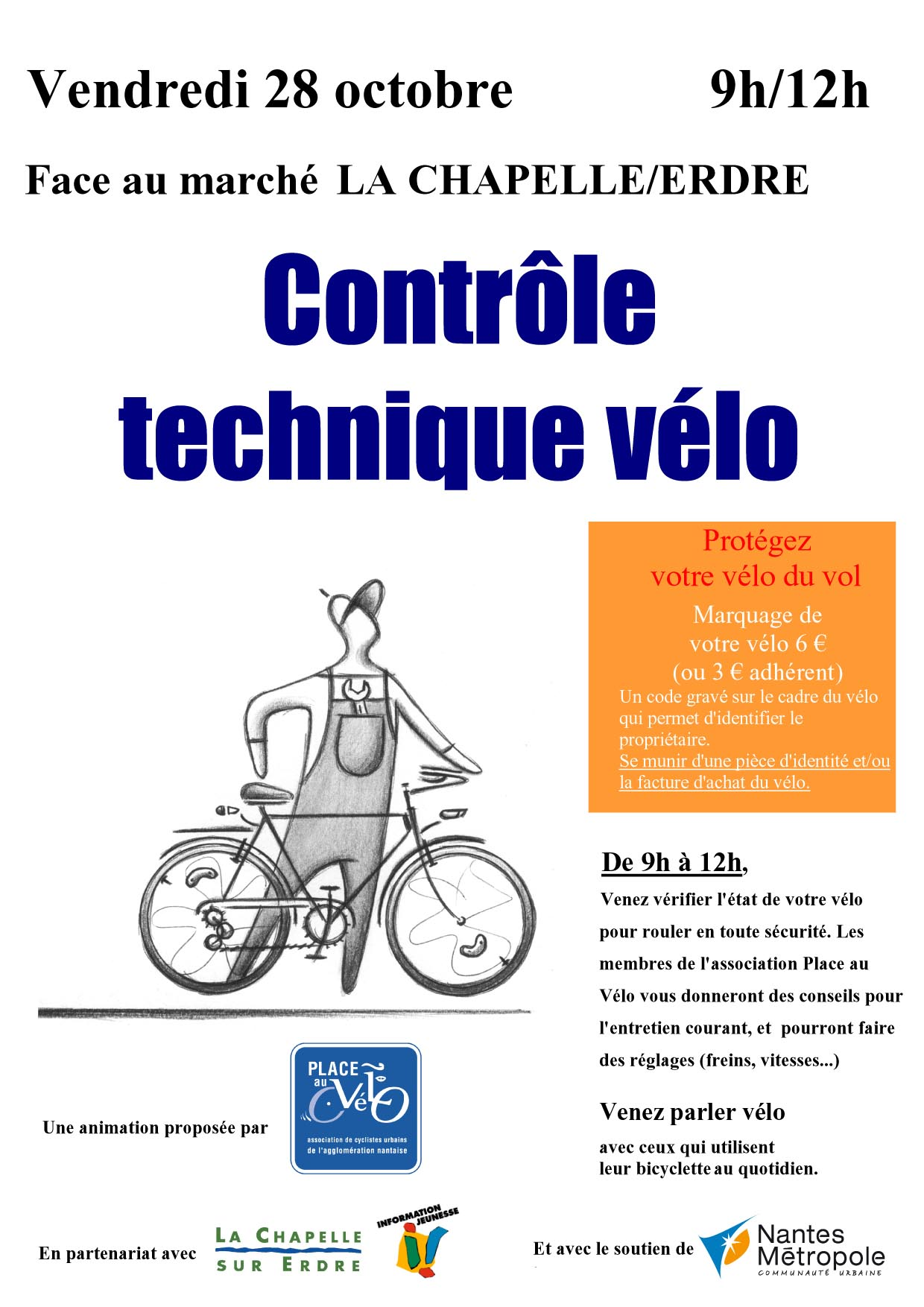 Contrôle technique vélo