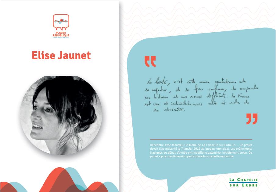 JAUNET Elise_fiche témoignage