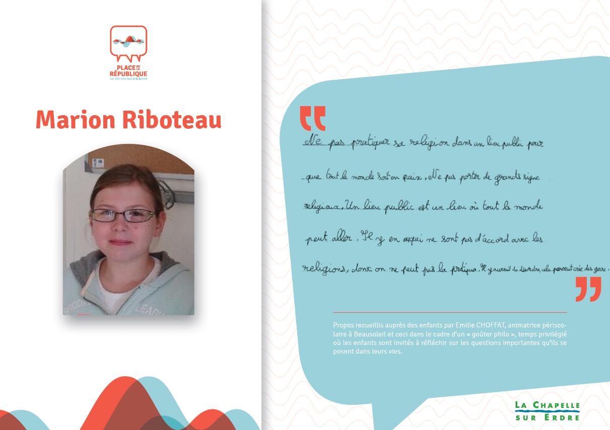 RIBOTEAU Marion_fiche témoignage