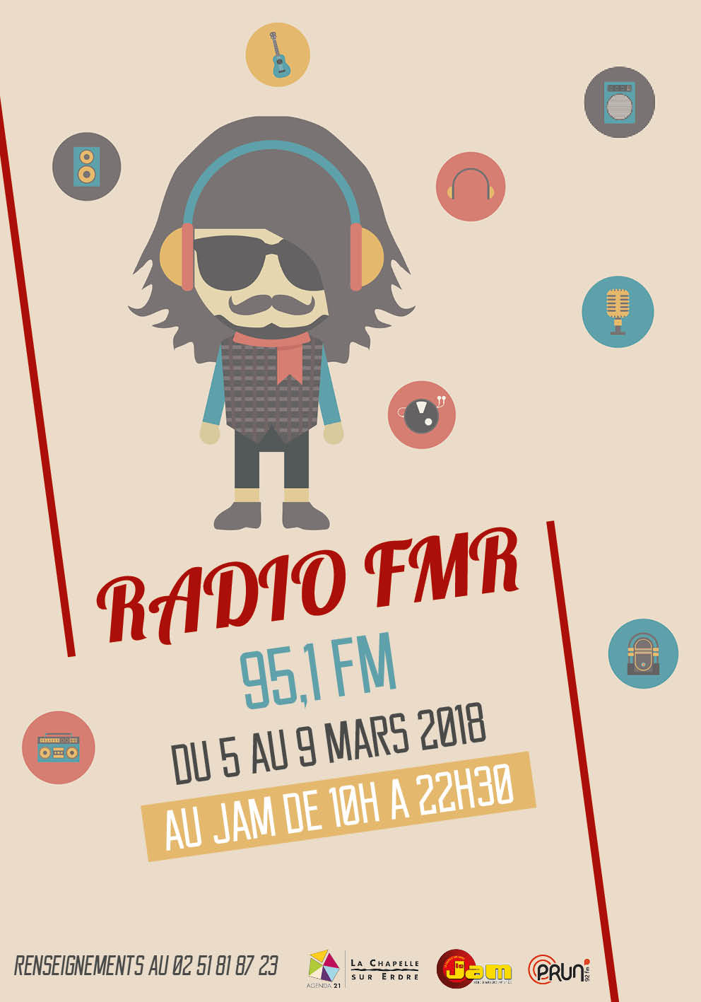 affiche radio fmr 2018